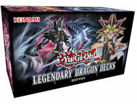 YUGIOH! * LEGENDARY DRAGON DECKS * (FACTORY SEALED) YUGI, ZANE, KONAMI AUTHENTIC