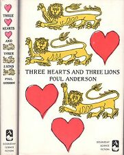 Three Hearts and Three Lions Poul Anderson First Edition/First Printing 1961