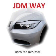 Eyebrows Eyelids Headlight Cover Eye Line BMW 3 Series E90 2005-2009 Set