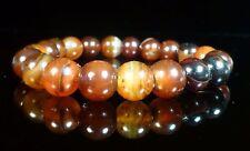 Dark Carnelian Bracelet Therapeutic Gemstone Beaded