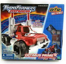 Transformers Armada 7056 Optimus Prime With Sparkplug Mini-con BTR 2003