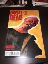 EMPIRE  OF tHE DEAD #1 1ST PRINTING GEORGE A ROMERO Marvel TV AMC SHOW ZOMBIES!!