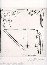 RAFOLS CASAMADA ALBERT GRAVURE 1985 SIGNÉE AU CRAYON NUM/50 HANDSIGNED ETCHING