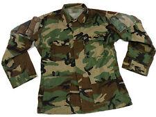 Woodland RAID Modified BDU Uniform Top Combat Shirt Medium Long Navy SEAL NSW