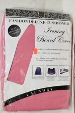"""Padded Ironing Board Cover & Pad (fit up to 54"""" boards) Pink Color, Bh"""