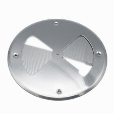 "7 3/4"" Butterfly Vent Aluminum Round Air Wall Vent  Horse Dog Trailer Stock Box"