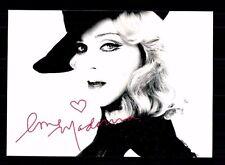 Madonna Autogrammkarte u.a. James Bond Film