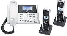 T-Sinus PA302i+1 ISDN Telefon Anrufbeantworter und 2 Mobilteilen Schnurloses