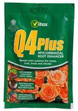 Vitax Q4+ Q4 Plus Fertiliser Plant Food Feed 60g - Fruit Veg Flowers Roses