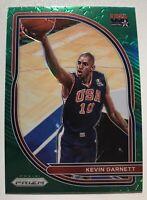 2020-21 Prizm Basketball Kevin Garnett USA Basketball Insert Green Prizm