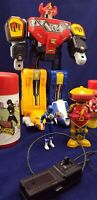 Vintage Mighty Morphin Power Rangers Random RC Megazord Thermos Bubble Lot of 5