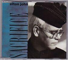Elton John - Sacrifice - CD (3 x Track EJSCD20 1989 Rocket West Germany)