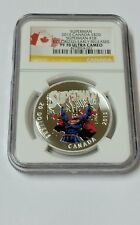 2015 Canada $20 Colorized Silver Superman Comic Cover#28 NGC PF70 UC ER SKU36300