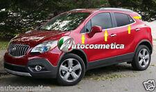 Strisce cromate sotto finestrini 8 pezzi Opel Mokka / Mokka X 2012