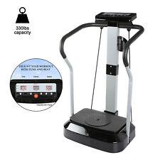 2000W Whole Body Massager Vibration Machine Fitness Platform w/ Music Player