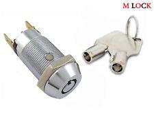 LOF OF 50 Key Switch Lock Momentary Tubular Garage Safe Alarm Keyed Alike NEW