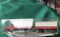 WIKING  M1:87 in OVP   Hanomag mit 1Anhänger  Anhängerzug, 85727