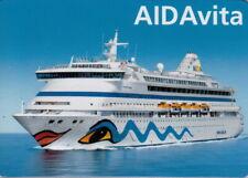 AIDA MAGNETKARTE-AIDAvita-TOLLES SAMMELOBJEKT-MAGNETKARTE ca :8 x 5,5 cm- TOP-