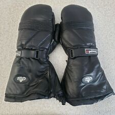 Choko Snowmobile Pro Racing Leather Gloves Thinsulate Extra Large XL EUC