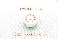 1 Stück Gold Mini E283CC anstatt 12AX7 ECC83 Tube Converter Adapter 6.3V Ver