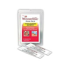 6 COUNT WOUND SEAL QR BLOOD STOPPER STOP THE BLEEDING FAST POUR PACK
