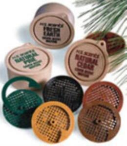 Hunters Specialties 01023  Primetime Cedar Cover Scent Wafer