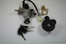 Chinese Scooter Ignition  Lock set  Sporty DE EE W/ Gas Cap