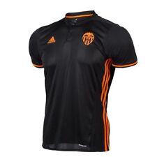 Camisetas de fútbol de clubes españoles de manga corta para hombres Valencia