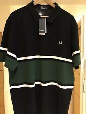 STUNNING FRED PERRY POLO SHIRT XXL- BRAND NEW WITH TAGS