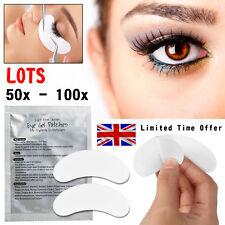 50-100 Pairs of Eyelash Lash Extension Under Eye Gel Pads Lint Free Eye Patches