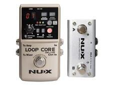 NUX Loop Core Gitarren Looper Pedal mit Drum-machine