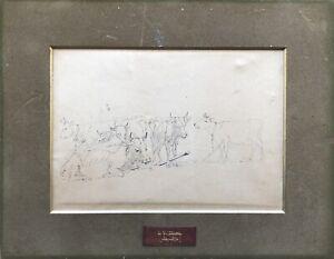 Johannes W.Zillen 1824-1870 Cows Cow Düsseldorf School Skagen Denmark