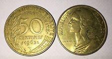 50 centimes LAGRIFFOUL 1962 col 3 plies
