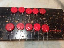 MALLORY 1.8 nf 1800pF 10kV ceramic capacitors Hi-Volt Laser Tesla Coil USA 10