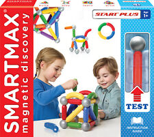 SmartMax Magnetic Discovery Start Plus Kit-22 Bars & 8 Balls Suitable for Age 1+