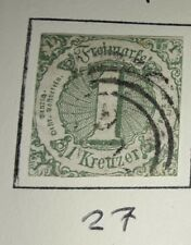 Thurn & Taxis  southern district SG60 fine used cat