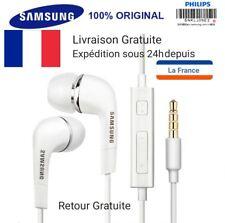 Ecouteurs intra-auriculaires filaires compatible tous smartphones, tablettes, PC