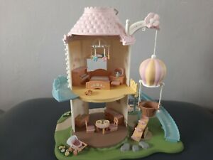 Sylvanian Families Primrose Baby Windmill with Accessories almost complete