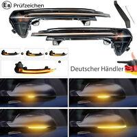 2x Dynamische Spiegelblinker LED Blinker f. Audi A6 C7 RS6 S6 Limo Avant Allroad
