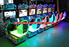 Kids Outrun Simulator Arcade Racing Car Game Commercial Coin Operated 8 Player