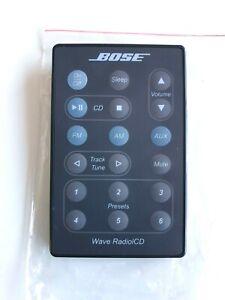 Genuine Bose-Wave RADIO/CD Remote Control (NEW) (BLACK)
