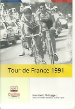 TOUR DE FRANCE 1991 GREG LEMOND NARRATION PHIL LIGGETT OFFICIAL DVD - CYCLING