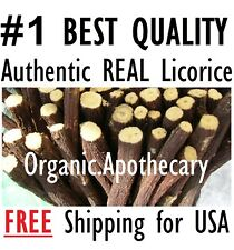 PREMIUM Organic Dry Licorice Root Chew Stick/Sewak/Miswak Glycyrrhiza Glabra 4oz