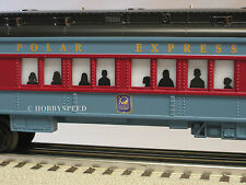 LIONEL 10TH ANNIVERSARY POLAR EXPRESS Train Coach 6-81101 lighted car 25101-NEW!