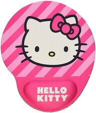Hello Kitty Mouse Pad with MF Wrist Rest, Pink (74709A-PNK)