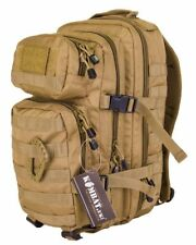 MOLLE CADET ASSAULT PACK 28 LITRE BAG RUCKSACK BACKPACK DAYSACK-COYOTE TAN