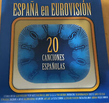 CD COMPILATION EUROVISION SPAIN 20 ENTRIES