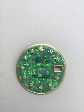 Star Diamond Setting Green MOP Dial For Ladies SS Rolex Datejust 26 mm Case