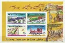 Timbres Trains Tanzanie BF2 ** non dentelé lot 1106