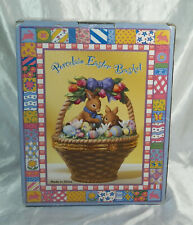 Porcelain Easter Basket new in box, never opened, now a rare collectible too.